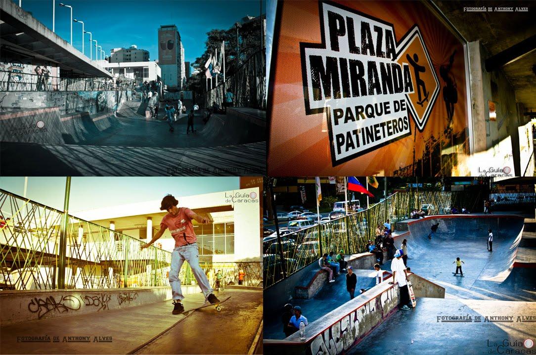 Parque de Patineteros Plaza Miranda