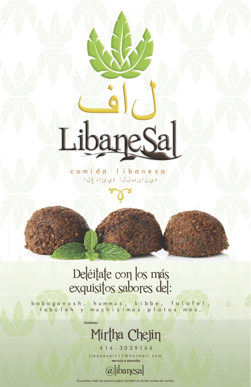 Libanesal: Excelente comida libanesa directo al paladar