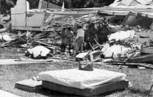 Scouts en terremoto 1967