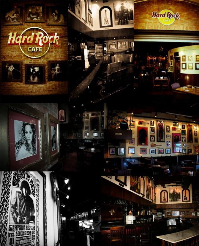 Hard Rock Café, rumba de altura