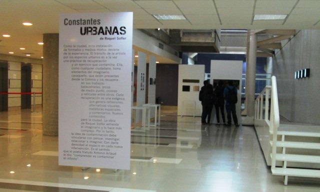 Constantes URBANAS, Exposición de Raquel Soffer en la UCAB