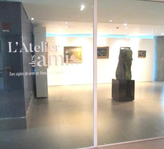 L´ Atelier des Amis, tres siglos de arte en Venezuela saludan a Francia