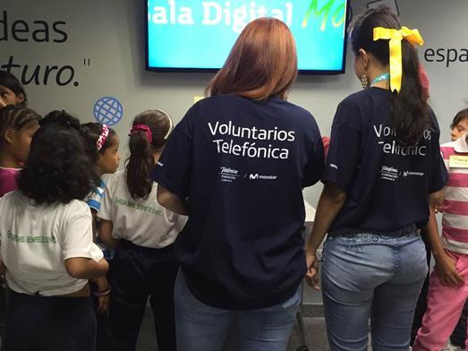 Fundación Telefónica Movistar benefició a 40 niños de Hogar Bambi