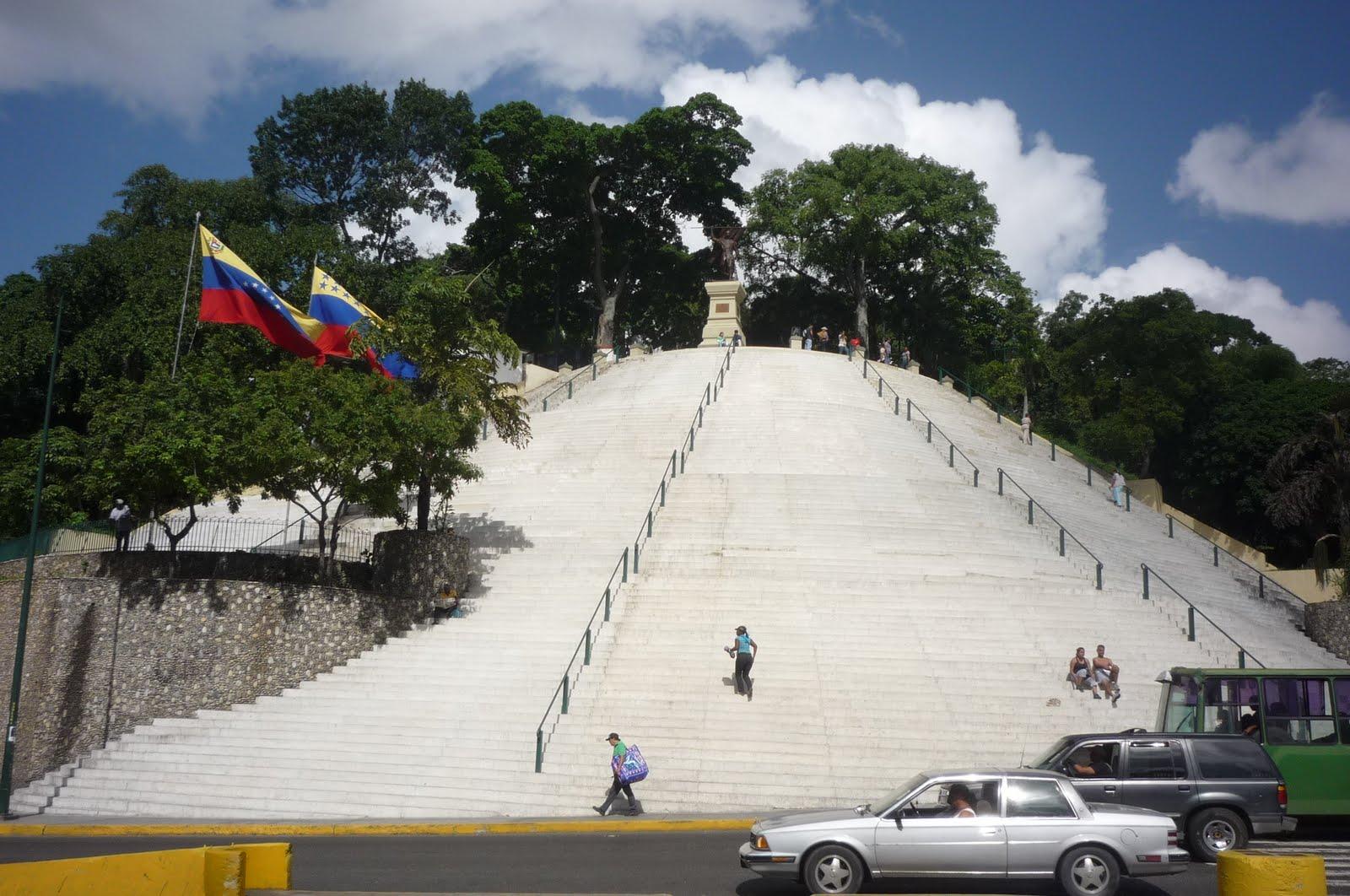 El Calvario: una escalera al cielo de Caracas