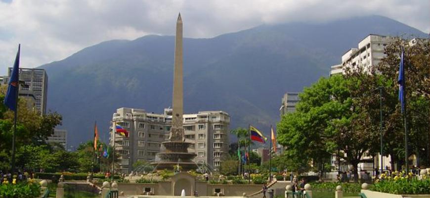 El simbólico obelisco del este caraqueño