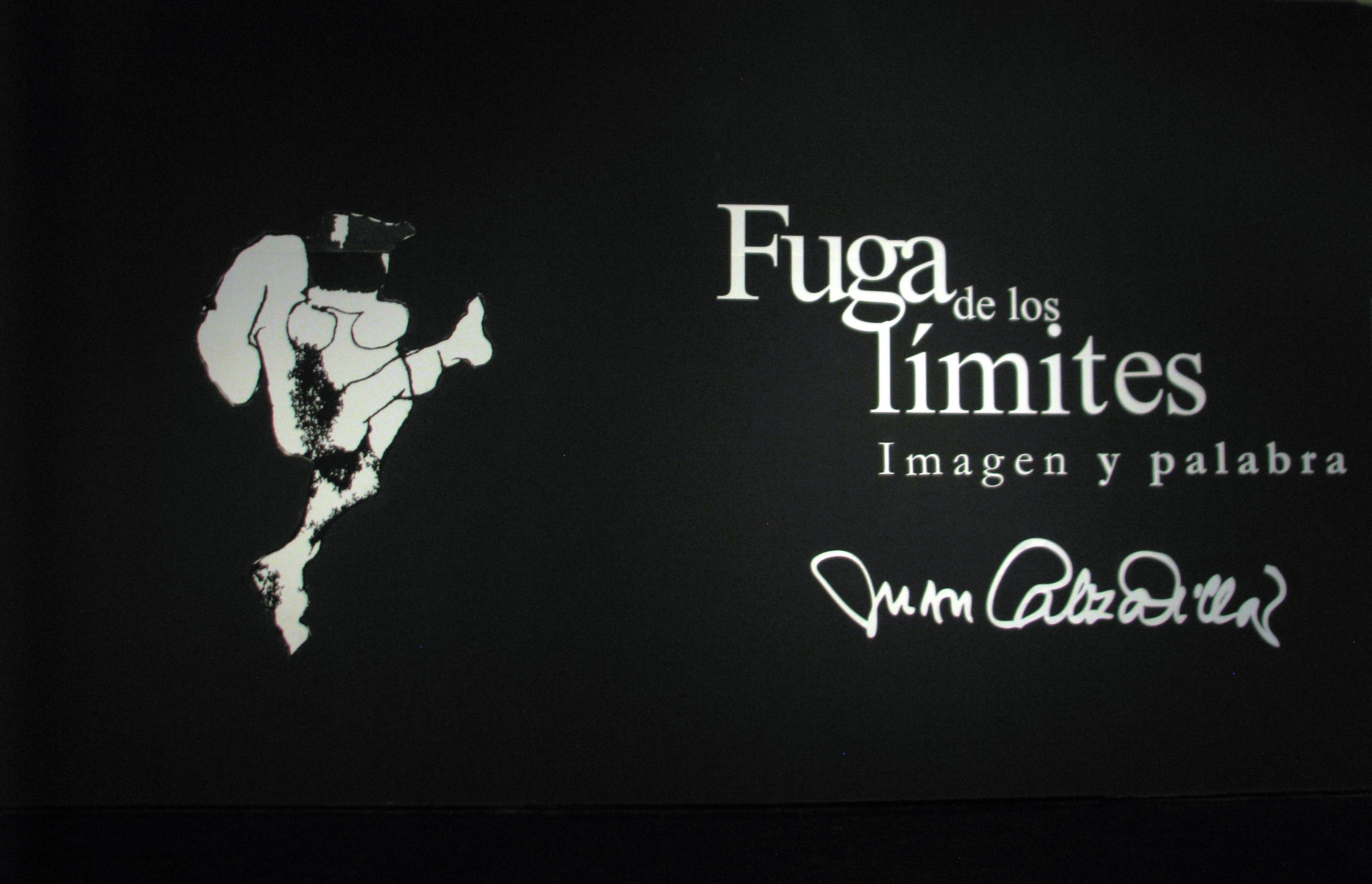 FUGA DE LOS LIMITES, Imagen y Palabra Exposición del Maestro Juan Calzadilla en la GAN