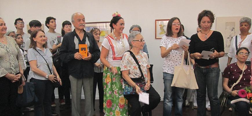 IN SITU homenaje a Amarilis Hannot en la Cristóbal Rojas