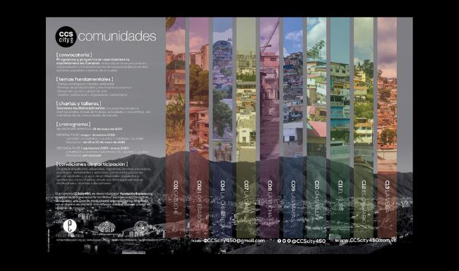 CCScity450 desarrollará propuestas de intervenciones urbanas en sectores populares