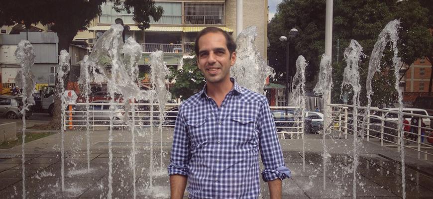 Toto Aguerrevere: Caracas me da nostalgia cuando no la tengo cerquita