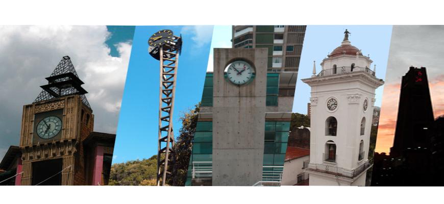 Estás justo a tiempo para conocer los grandes relojes en Caracas