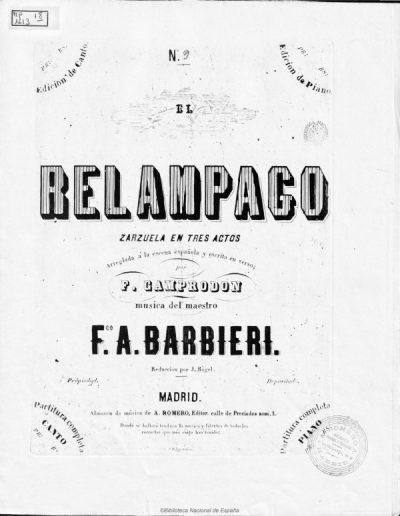 Zarzuela Relámpago