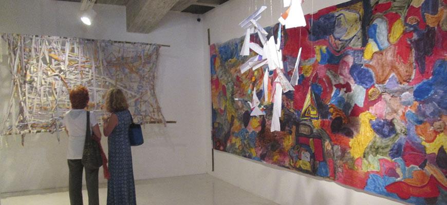 Los Artistas de Papel presentaron su hermoso trabajo en la Unimet
