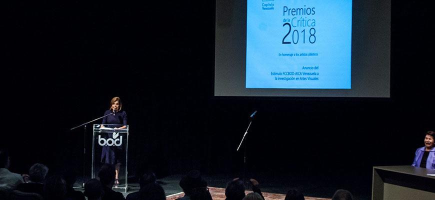 Premios AICA 2018, homenaje al Artista Plástico