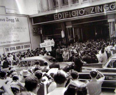 Pasaje Zingg-inauguración
